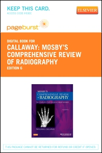 cover image - Mosby's Comprehensive Review of Radiography - Elsevier eBook on VitalSource (Retail Access Card),6th Edition
