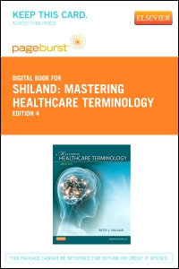 cover image - Mastering Healthcare Terminology - Elsevier eBook on VitalSource (Retail Access Card),4th Edition