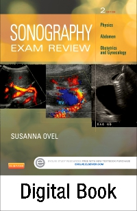 cover image - Evolve Resources for Sonography Exam Review: Physics, Abdomen, Obstetrics and Gynecology,2nd Edition