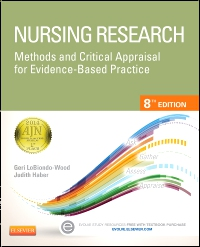 cover image - Nursing Research,8th Edition