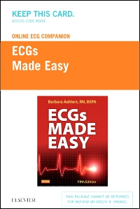 cover image - Online ECG Companion for ECGs Made Easy (Access Code),5th Edition