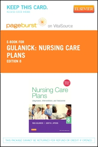 cover image - Nursing Care Plans - Elsevier eBook on VitalSource (Retail Access Card),7th Edition