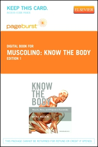 cover image - Know the Body: Muscle, Bone, and Palpation Essentials - Elsevier eBook on VitalSource (Retail Access Card)