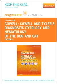 cover image - Cowell and Tyler's Diagnostic Cytology and Hematology of the Dog and Cat - Elsevier eBook on VitalSource (Retail Access Card),4th Edition