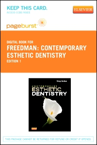 cover image - Contemporary Esthetic Dentistry - Elsevier eBook on VitalSource (Retail Access Card)
