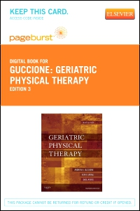 cover image - Geriatric Physical Therapy - Elsevier eBook on VitalSource (Retail Access Card),3rd Edition