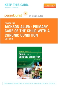 cover image - Primary Care of the Child With a Chronic Condition - Elsevier eBook on VitalSource (Retail Access Card),5th Edition