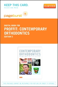 cover image - Contemporary Orthodontics - Elsevier eBook on VitalSource (Retail Access Card),5th Edition