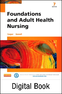 cover image - Foundations and Adult Health Nursing - Elsevier eBook on VitalSource,7th Edition
