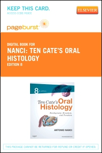 cover image - Ten Cate's Oral Histology - Elsevier eBook on VitalSource (Retail Access Card),8th Edition