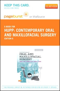 cover image - Contemporary Oral and Maxillofacial Surgery - Elsevier eBook on VitalSource (Retail Access Card),6th Edition