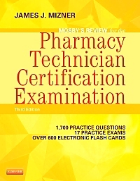 cover image - Evolve Resources for Mosby's Review for the Pharmacy Technician Certification Examination,3rd Edition