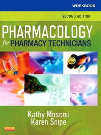 cover image - Workbook for Pharmacology for Pharmacy Technicians - Elsevier eBook on VitalSource,2nd Edition