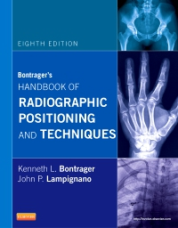cover image - Bontrager's Handbook of Radiographic Positioning & Techniques - Elsevier eBook on VitalSource,8th Edition
