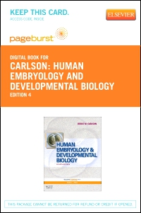 cover image - Human Embryology and Developmental Biology - Elsevier eBook on VitalSource (Retail Access Card),4th Edition