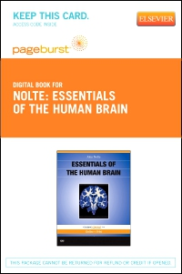 cover image - Essentials of the Human Brain - Elsevier eBook on VitalSource (Retail Access Card)