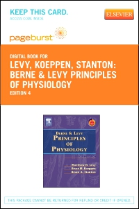 cover image - Berne & Levy Principles of Physiology - Elsevier eBook on VitalSource (Retail Access Card),4th Edition