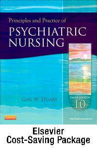 cover image - Principles and Practice of Psychiatric Nursing - Elsevier eBook on VitalSource (Retail Access Card),10th Edition