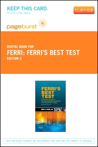 cover image - Ferri's Best Test - Elsevier eBook on VitalSource (Retail Access Card),2nd Edition