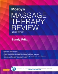 cover image - Mosby's Massage Therapy Review,4th Edition