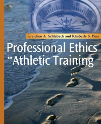 cover image - Professional Ethics in Athletic Training - Elsevier eBook on VitalSource