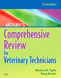 cover image - Mosby's Comprehensive Review for Veterinary Technicians - Elsevier eBook on VitalSource,3rd Edition