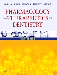 cover image - Pharmacology and Therapeutics for Dentistry - Elsevier eBook on VitalSource,6th Edition