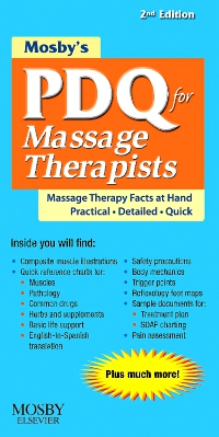 cover image - Mosby's PDQ for Massage Therapists - Elsevier eBook on VitalSource,2nd Edition
