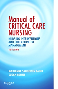 cover image - Manual of Critical Care Nursing - Elsevier eBook on VitalSource,6th Edition