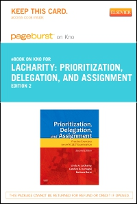 cover image - Prioritization, Delegation, and Assignment - Elsevier eBook on VitalSource,2nd Edition
