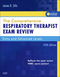 cover image - The Comprehensive Respiratory Therapist Exam Review - Elsevier eBook on VitalSource,5th Edition