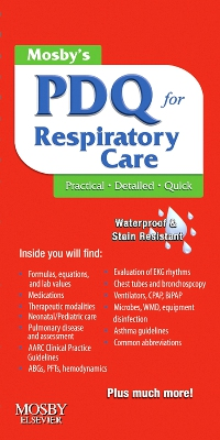 cover image - Mosby's Respiratory Care PDQ - Elsevier eBook on VitalSource,2nd Edition