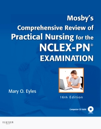cover image - Mosby's Comprehensive Review of Practical Nursing for the NCLEX-PN® Exam - Elsevier eBook on VitalSource,16th Edition