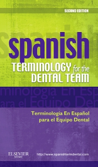 cover image - Spanish Terminology for the Dental Team - Elsevier eBook on VitalSource,2nd Edition