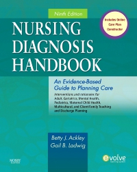 cover image - Nursing Diagnosis Handbook - Elsevier eBook on VitalSource,9th Edition