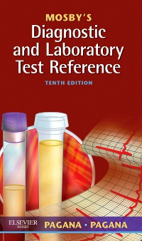 cover image - Mosby's Diagnostic and Laboratory Test Reference - Elsevier eBook on VitalSource,10th Edition
