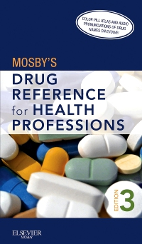 cover image - Mosby's Drug Reference for Health Professions - Elsevier eBook on VitalSource,3rd Edition