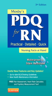 cover image - Mosby's PDQ for RN - Elsevier eBook on VitalSource,3rd Edition