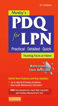 cover image - Mosby's PDQ for LPN - Elsevier eBook on VitalSource,3rd Edition