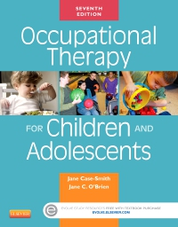 cover image - Occupational Therapy for Children and Adolescents,7th Edition