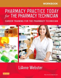 cover image - Workbook for Pharmacy Practice Today for the Pharmacy Technician