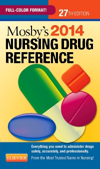 cover image - Mosby's 2014 Nursing Drug Reference - Elsevier eBook on VitalSource,27th Edition