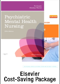 cover image - Psychiatric Mental Health Nursing - Text and Simulation Learning System Package,5th Edition