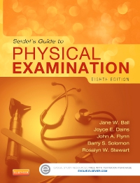 cover image - Seidel's Guide to Physical Examination - Elsevier eBook on VitalSource,8th Edition