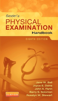 cover image - Seidel's Physical Examination Handbook - Elsevier eBook on VitalSource,8th Edition