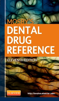 cover image - Mosby's Dental Drug Reference - Elsevier eBook on VitalSource,11th Edition