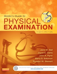 cover image - Evolve Resources for Seidel's Guide to Physical Examination,8th Edition