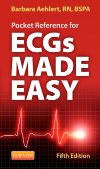 cover image - Pocket Reference for ECGs Made Easy- Elsevier eBook on VitalSource,5th Edition