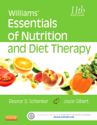 cover image - Williams' Essentials of Nutrition and Diet Therapy,11th Edition