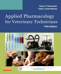 cover image - Applied Pharmacology for Veterinary Technicians - Elsevier eBook on VitalSource,5th Edition